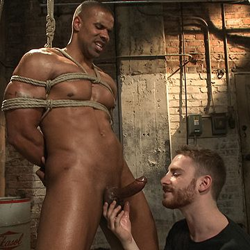 Hunky Black Cop Abused | Daily Dudes @ Dude Dump