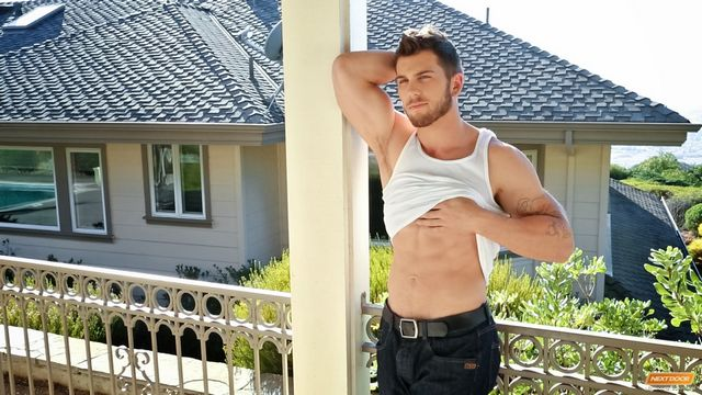 Hunky guy Chuck A jerks off at NEXT DOOR MALE | Daily Dudes @ Dude Dump