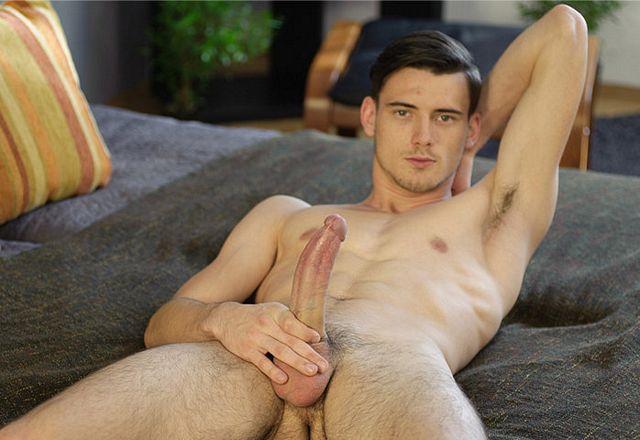 Igor Tenas posing and showing off his long cock | Daily Dudes @ Dude Dump