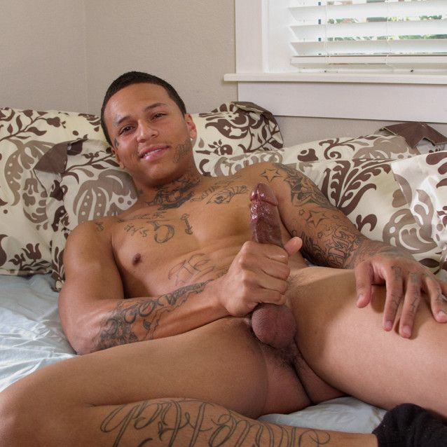 Inked-Up Big-Dicked Bad Boy | Daily Dudes @ Dude Dump