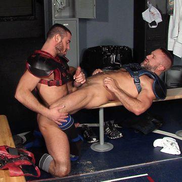 Intense Gay Locker Room Action | Daily Dudes @ Dude Dump