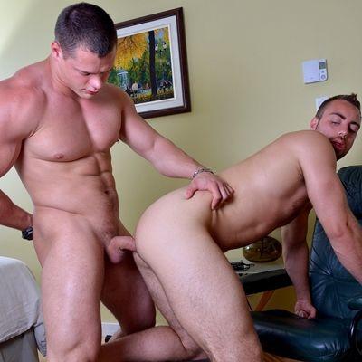 Ivan Lenko Slams Alec Leduc's Hot Bubble Ass | Daily Dudes @ Dude Dump