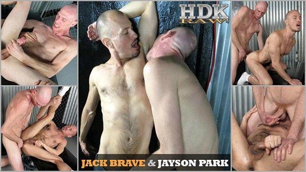 Jack Brave Barebacks Jayson Park | Daily Dudes @ Dude Dump