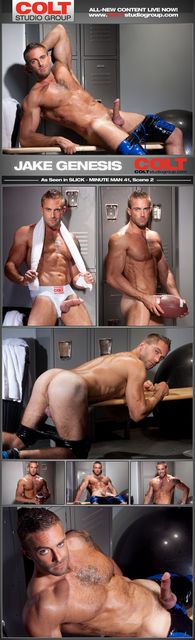 Jacking Off With Jake Genesis   Daily Dudes @ Dude Dump