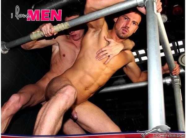 Jake Reed Fucks Marco Sessions in UK Hot Jocks | Daily Dudes @ Dude Dump