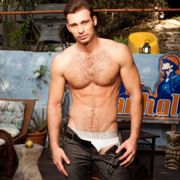Jarec Wentworth gets his balls out | Daily Dudes @ Dude Dump