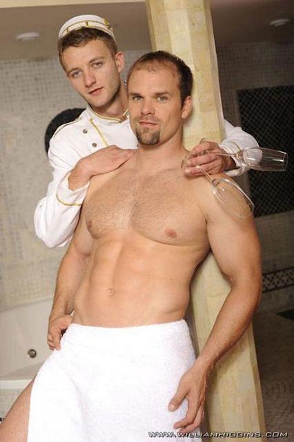 Jaro Grygar and uncut muscle bottom Mattias Solich   Daily Dudes @ Dude Dump