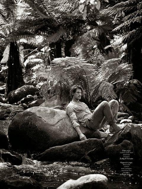Jarrod Scott for Vogue | Daily Dudes @ Dude Dump