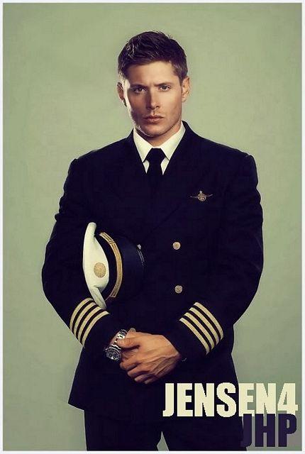 Jensen Ackles in uniform! | Daily Dudes @ Dude Dump
