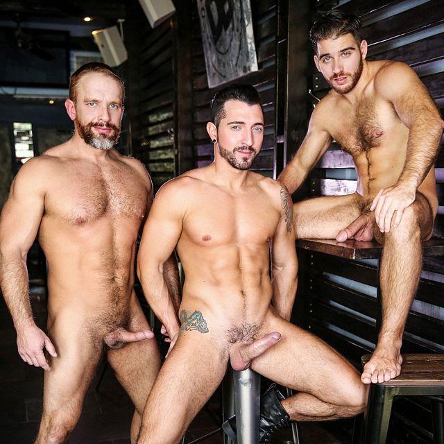 Jimmy Durano, Jackson Grant & Dirk Caber | Daily Dudes @ Dude Dump