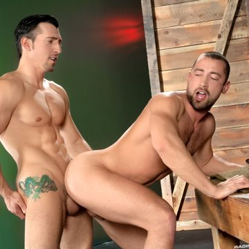 Jimmy Durano Sinks His Uncut Jock Cock Into Donnie | Daily Dudes @ Dude Dump