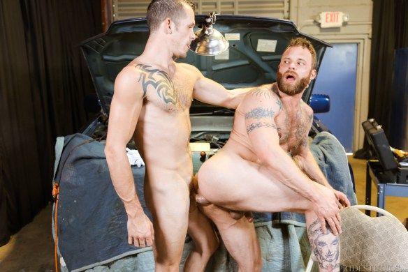 Jimmy Slater Drills Derek Parker   Daily Dudes @ Dude Dump