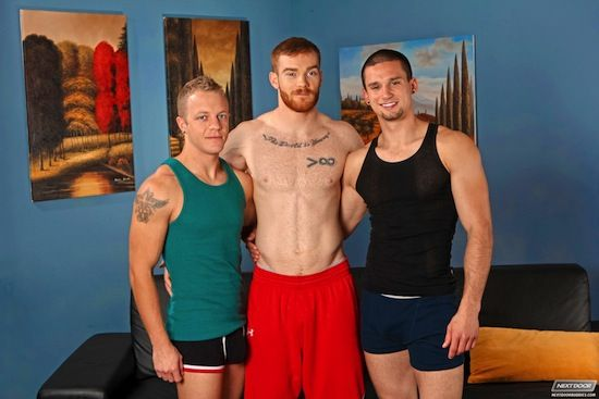 Jock Spit  With Anthony Romero, James Jamesson | Daily Dudes @ Dude Dump