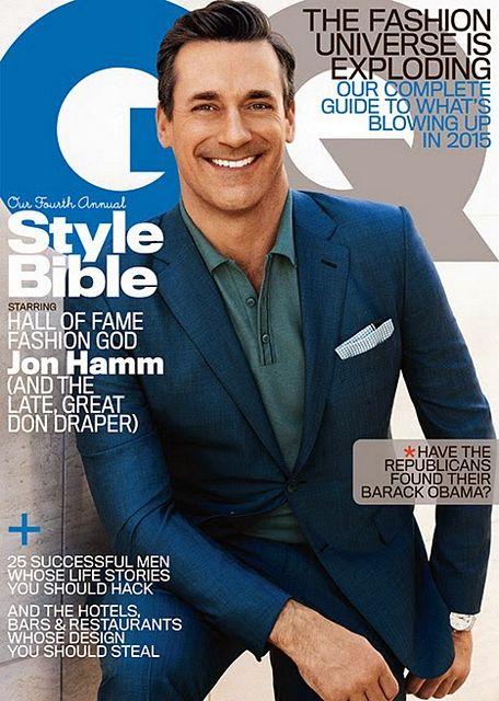 Jon Hamms cover boy for GQ | Daily Dudes @ Dude Dump