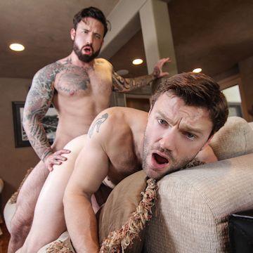 Jordan Levine tops Dennis West | Excellent Top Gay | Daily Dudes @ Dude Dump