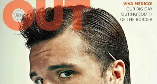 Josh Hutcherson cover boy per OUT   Daily Dudes @ Dude Dump