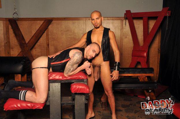 Kriss & Antonio in Bigguns from Daddy Raunch | Daily Dudes @ Dude Dump