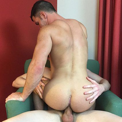 Landon Wright fucks Brogan Reed's muscled ass   Daily Dudes @ Dude Dump