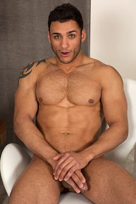Latin guy with beautiful eyes and Muscular Body | Daily Dudes @ Dude Dump