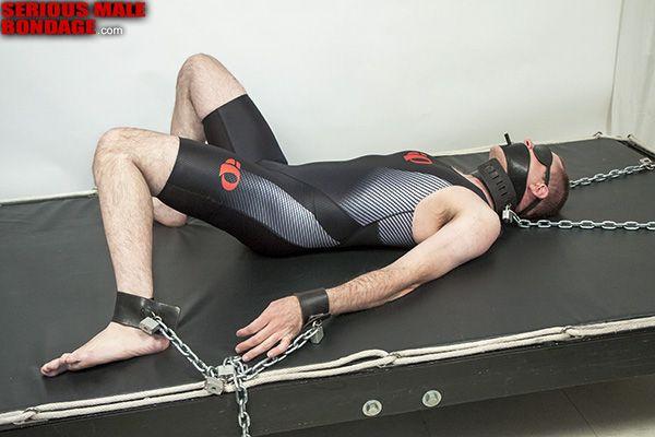 Male rubber bondage | Daily Dudes @ Dude Dump