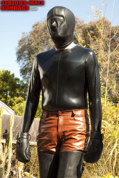 Male rubber catsuit | Daily Dudes @ Dude Dump