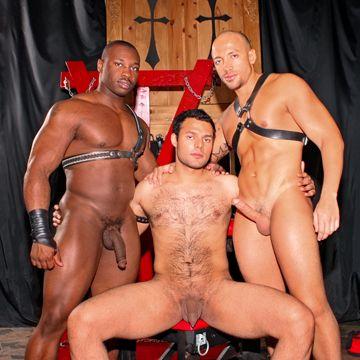 Marc Williams And Jordano Santoro Fuck Their Slave | Daily Dudes @ Dude Dump