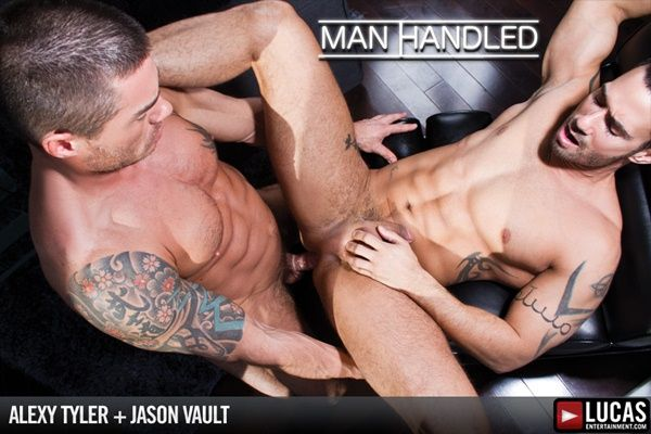 Masculine Jason Vault Rams Alexy Tyler   Daily Dudes @ Dude Dump
