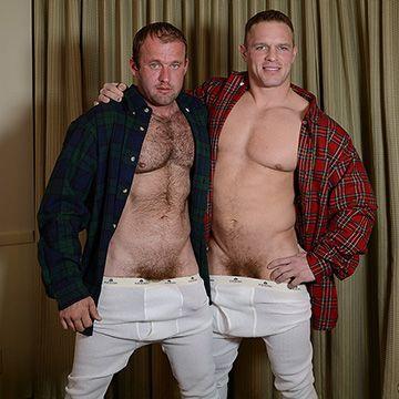 Men in Long Johns | Daily Dudes @ Dude Dump