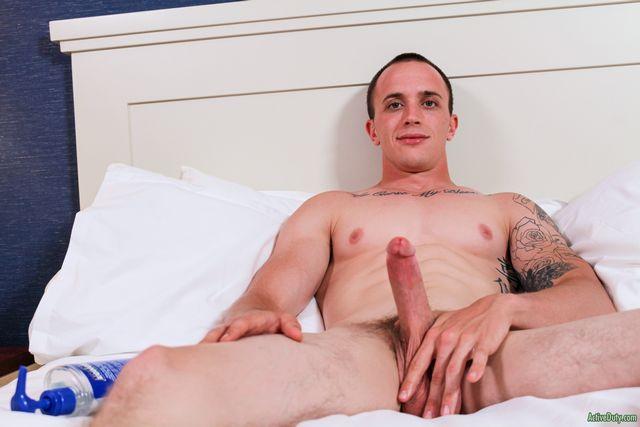 Military guy James | Daily Dudes @ Dude Dump