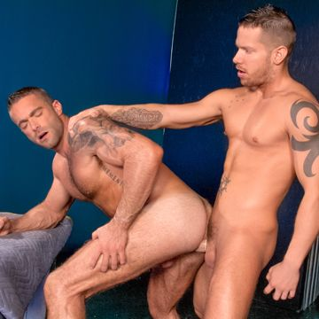 Muscle Flip Fucking With Jake Genesis And Shane… | Daily Dudes @ Dude Dump