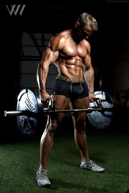 Muscle Hunk Eric Janicki By Eric Wainwright | Daily Dudes @ Dude Dump