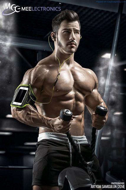 Muscle Man Roman | Daily Dudes @ Dude Dump