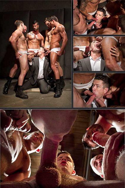 Muscle men gang bang gay | Daily Dudes @ Dude Dump