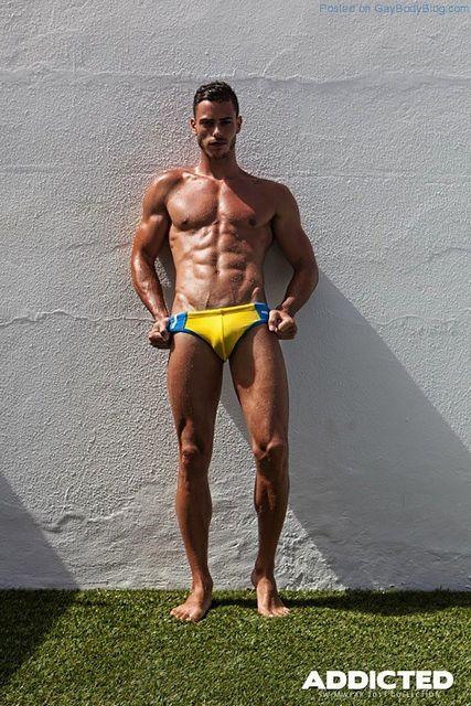 Muscled Hunks In Beachwear! | Daily Dudes @ Dude Dump