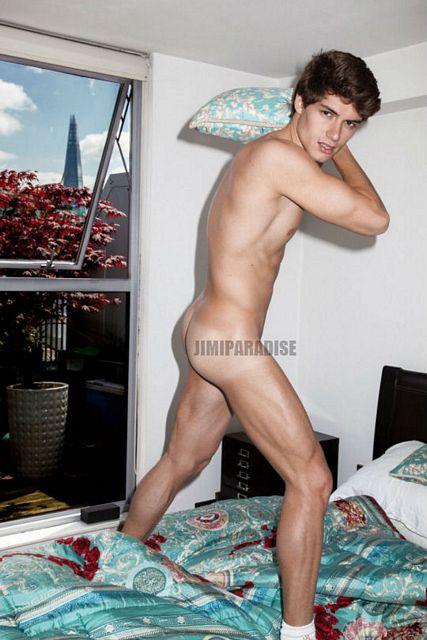 Naked Models: Aron Serafini for Pantelis | Daily Dudes @ Dude Dump
