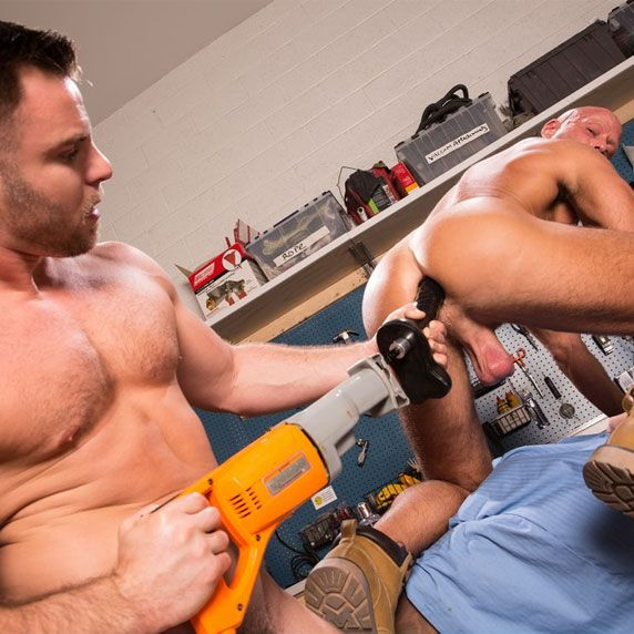 Nick Sterling drills Coby Mitchell | Daily Dudes @ Dude Dump