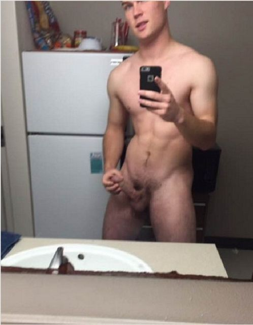 Nude Stud Jerking Off His Hard Cock | Daily Dudes @ Dude Dump