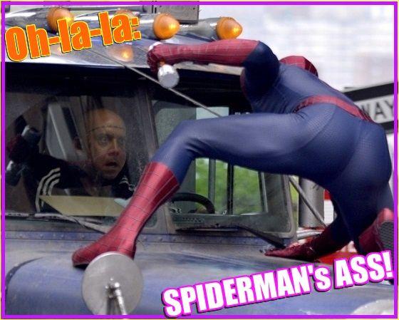 Oh-la-la: SPIDERMAN's ASS! | Daily Dudes @ Dude Dump