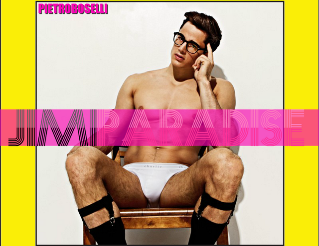 OMG: Pietro Boselli for Charlie   Daily Dudes @ Dude Dump