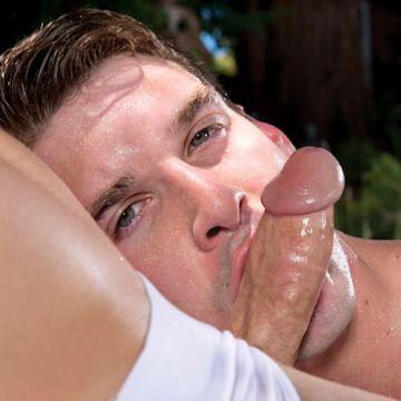 Oral fixation — Dustin loves dick   Daily Dudes @ Dude Dump