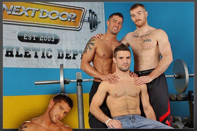 Orgy in gay gym class | Daily Dudes @ Dude Dump