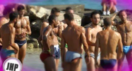 Parma F.C. beach training | Daily Dudes @ Dude Dump