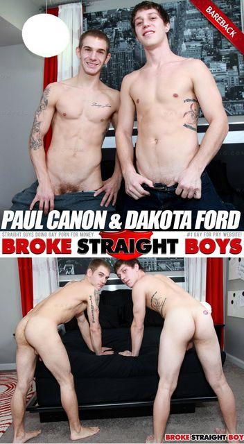 Paul Canon & Dakota Ford (Bareback Flip-Flop)   Ho   Daily Dudes @ Dude Dump