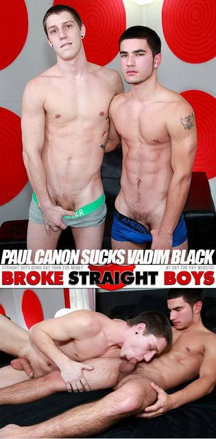 Paul Canon Sucks Vadim Black | Hot Gay Boys | Daily Dudes @ Dude Dump