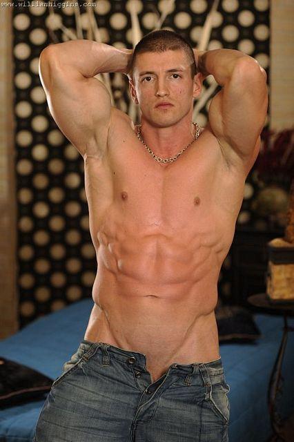 Petr Cizmar and his uncut muscle cock | Daily Dudes @ Dude Dump