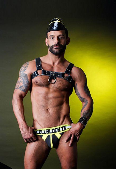 Porn Hunk David Benjamin For CellBlock 13 | Daily Dudes @ Dude Dump