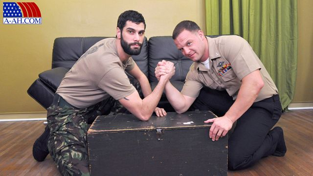 Private Antonio and Navy Corpsman Logan | Daily Dudes @ Dude Dump