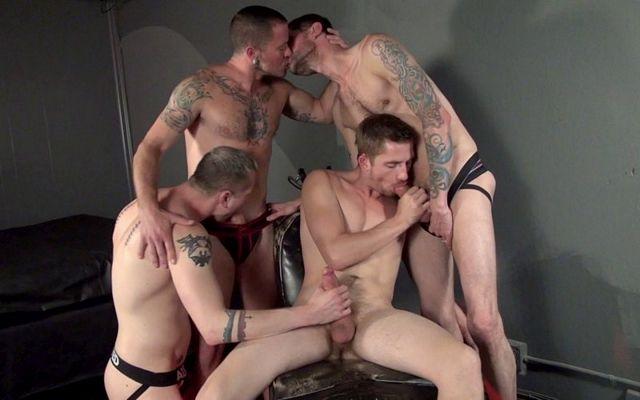 Raw Club Orgy | Daily Dudes @ Dude Dump