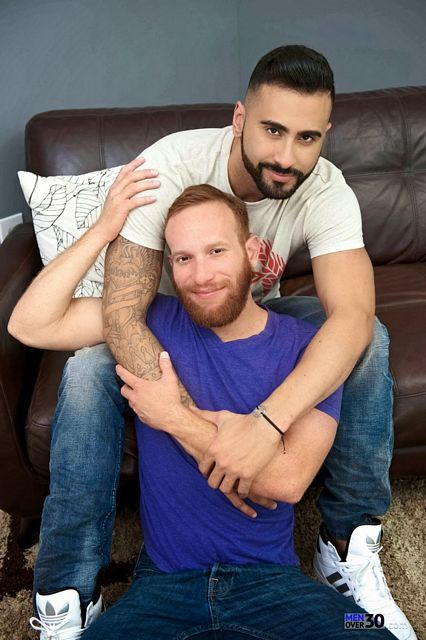 Rikk York opens Steven Ponce's red haired ass | Daily Dudes @ Dude Dump
