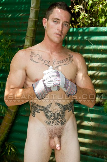 Ripped Blue Collar Stud Busts a Big Load | Daily Dudes @ Dude Dump